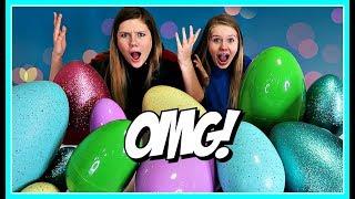 Don't Choose the Wrong Egg Slime   Taylor & Vanessa thumbnail