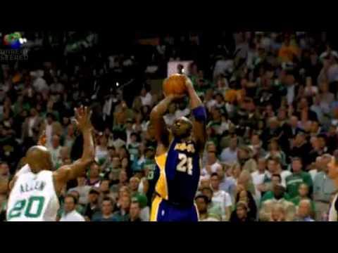 Kobe´s Stepback Jumper NBA Finals 2010 Los Angeles Lakers ...