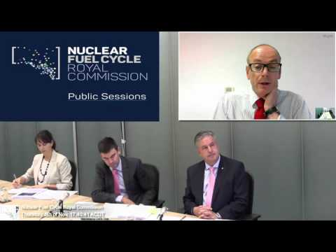 SA Royal Commision with Nuclear Risk Insurers Ltd, Westinghouse Electric Co. & Nuscale