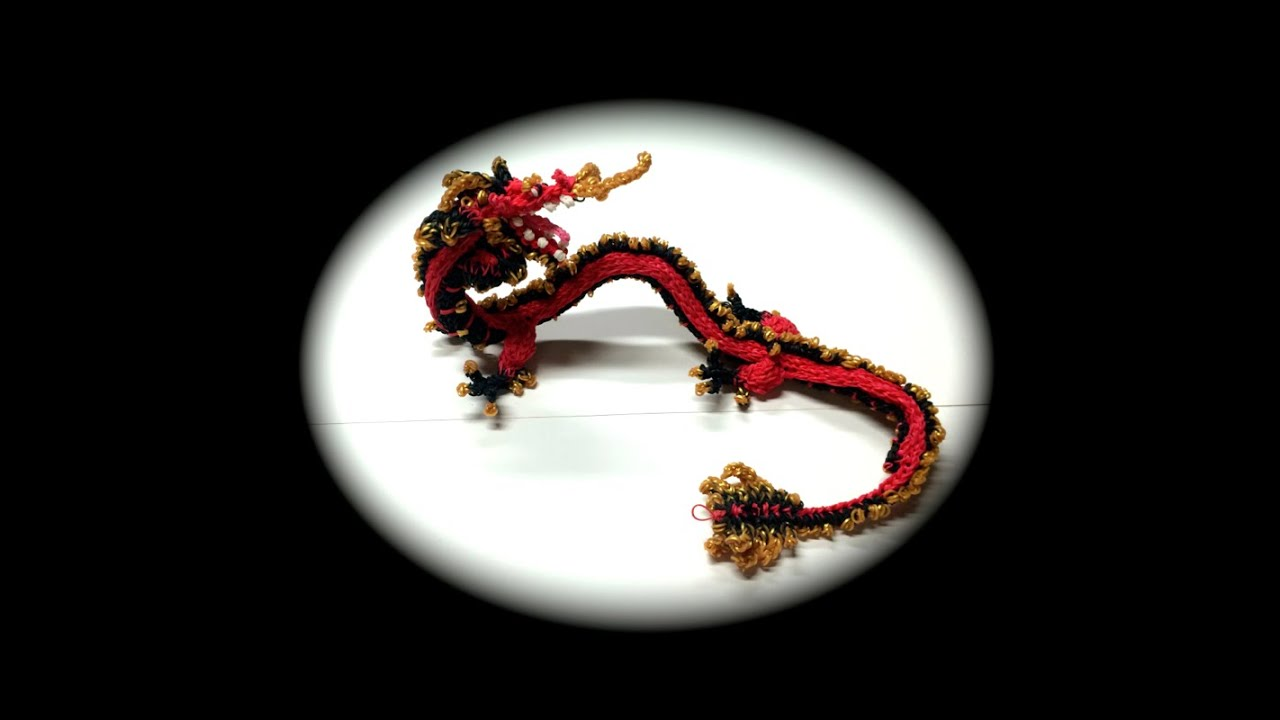 Part 12 12 Rainbow Loom Chinese Dragon Adult Youtube