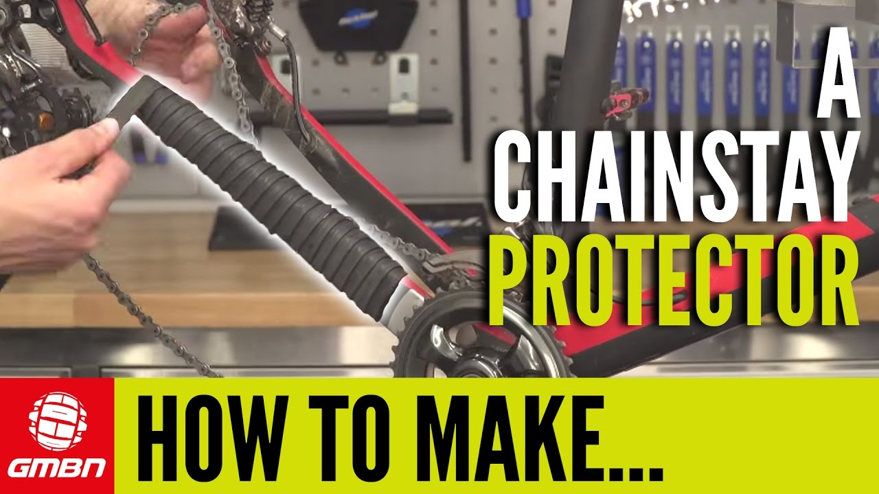 How To Make A Chainstay Protector Mountain Bike