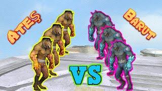 Wolfteam Ateş vs Barut (KURT VS KURT) Efsane Kapışma!! :D #264