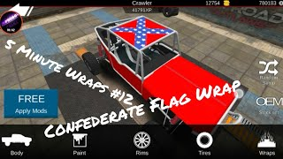 Offroad Outlaws Confederate Flag Wrap How To (5 Minute Wraps #12)