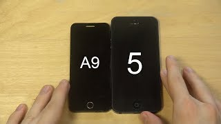 Anica A9+ Mini Phone vs. iPhone 5 - Which Is Faster?
