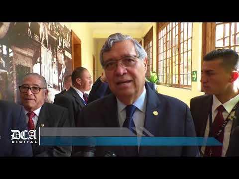 Vicepresidente Visita El Diario De Centro América Y Tipografía Nacional