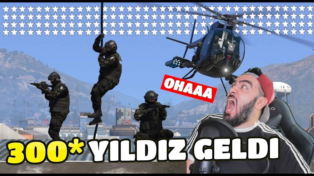 Download 300* YILDIZ'DA KANLI EVIN ÇATISINA ÖZEL POLISLER GELDI (GTA 5)