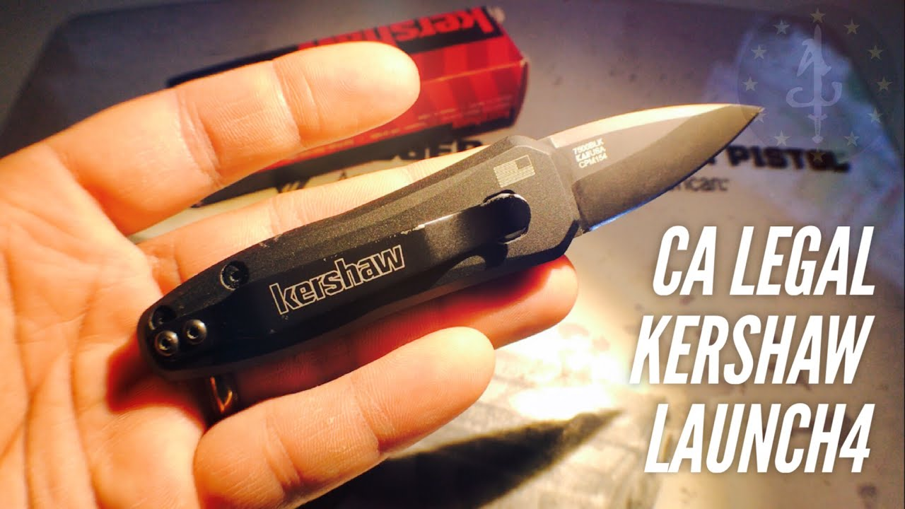 CA LEGAL Kershaw Launch 4 Automatic Knife