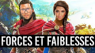 TEST d'Assassin's Creed Odyssey, forces et faiblesses