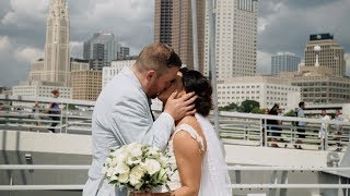 Emotional speech from best friend!  Epic Wedding Video