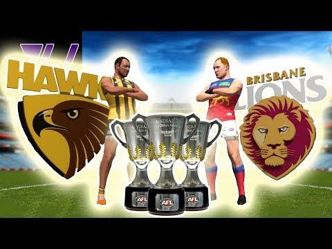 THREE-PEAT DYNASTY vs THREE-PEAT DYNASTY! 2015 HAWKS vs 2003 LIONS!  | AFL Evolution | Episode 12