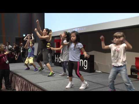 Zumba Dance | Nastassia Syz | TEDxHongKong