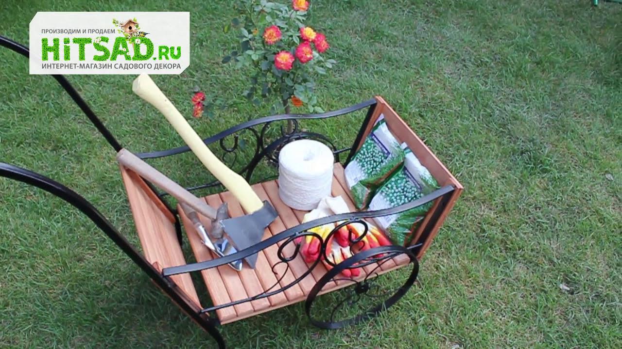 Фигура ослика с телегой для сада и животные купить для интерьера .