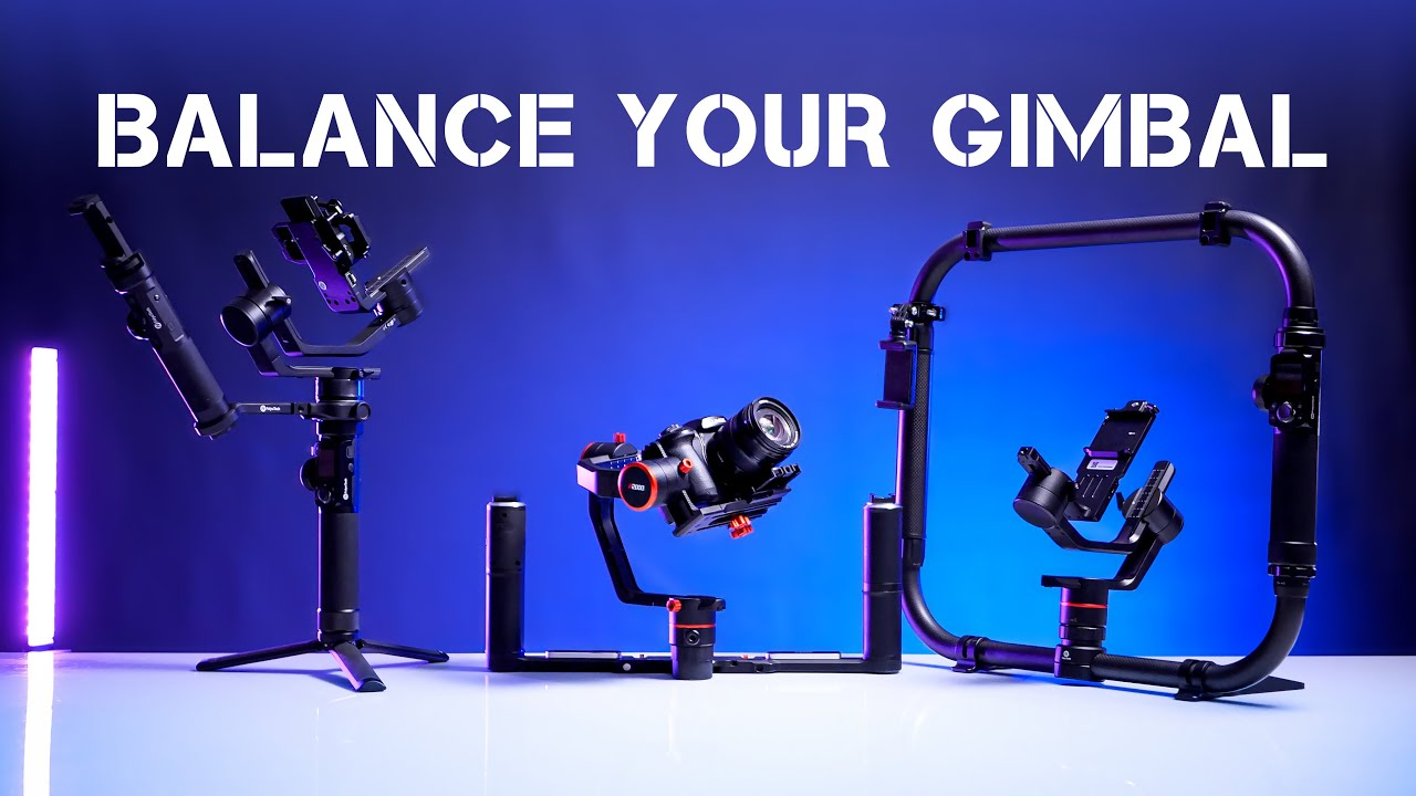 How to Properly Balance any Gimbal for smooth video!