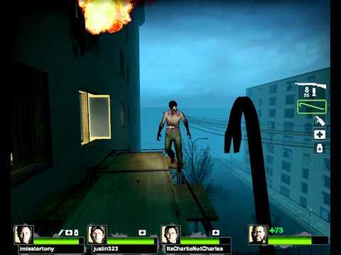 Left 4 Dead 2 - Custom Map: Tour of Terror Part (1/5)