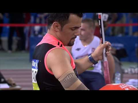 Men's javelin F41 | final |  2015 IPC Athletics World Championships Doha
