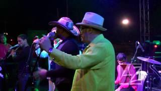 HANSEL Y RAUL - ELLA ft ANGEL Y MARLON EN VIVO (PUERTO COLOMBIA FESTIVAL DE ORQUESTAS 2013)