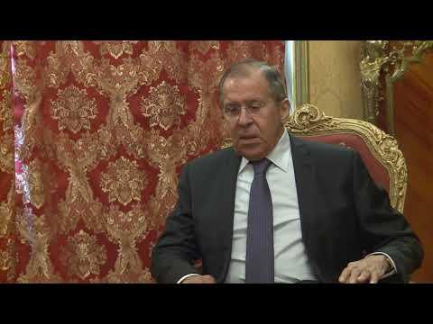 Ответы С.Лаврова на вопросы СМИ Армении