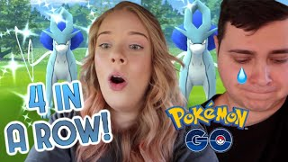 THE MOST SHINIES EVER! Shiny Suicune Raid Day Pokémon Go Vlog Ft. Tslayers