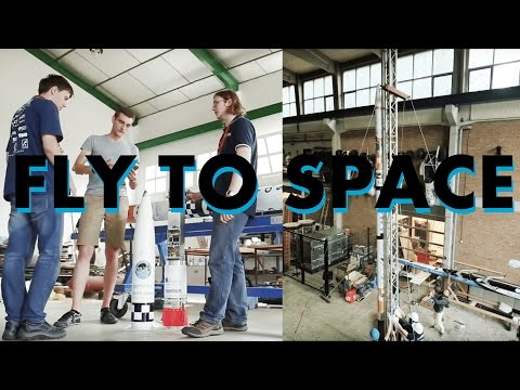 TU Delft students doing real Rocket Science: building Rockets to launch to Space