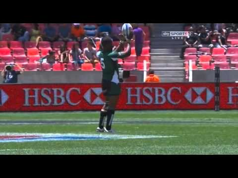 World Series 7s 2013 14 R03 Port Elizabeth M04 Pool D Argentina v Zimbabwe