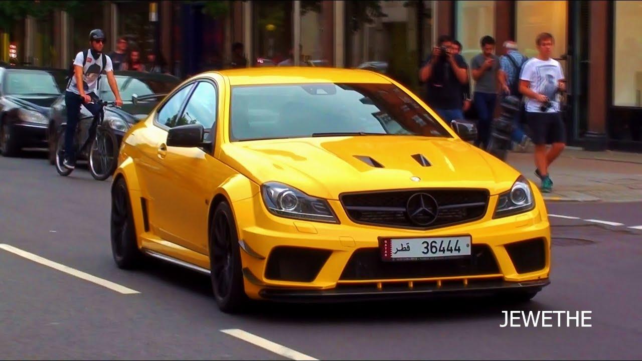 Loud Arab Mercedes Benz C63 Amg Black Series W Mhp
