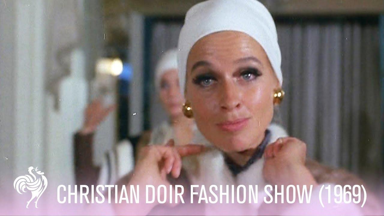 Christian Dior Fur Fashion Show in London (1969) | Vintage Fashion