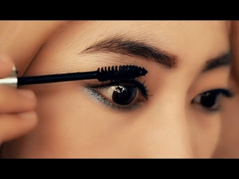 Tutorial Make up Hijab Daily (Eyeliner+Eyebrow+Maskara)