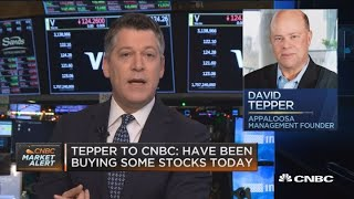 David Tepper buys stocks as market continues to fall
