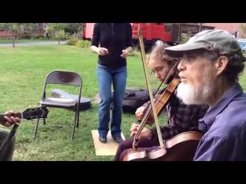 "Dancing ""Take Me Back to Georgia"" - Jon Bekoff RIP & Emily Horne - Putnam Fiddlers Reunion"