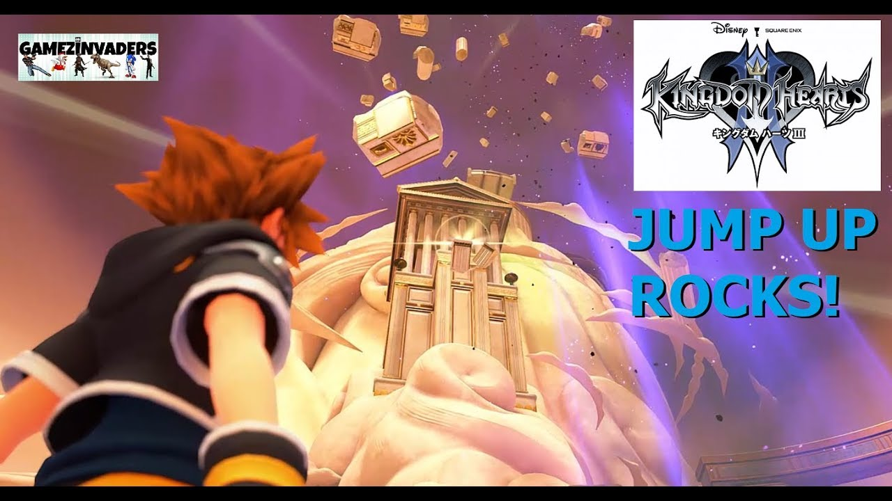 recognized brands clearance prices ever popular Kingdoms Hearts 3! How to Jump up the Rocks/Rubble [Walkthrough 5]