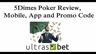 5Dimes Poker Review, Mobile, App and Promo Code