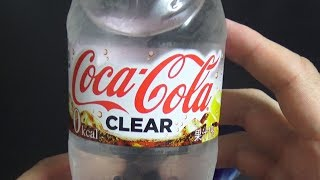La Coca Cola INVISIBILE: Coca Cola Clear - Vivi Giappone