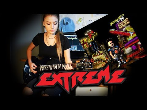 EXTREME -Decadance Dance- Guitar Solo Cover