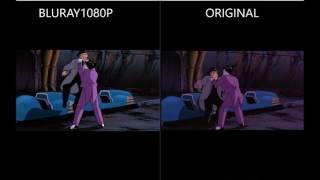 Batman Mask of the Phantasm - Blu-ray vs Original Comparison #2