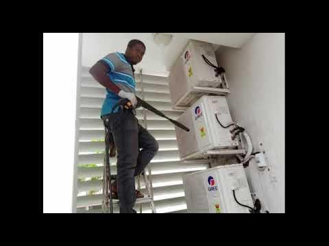 solar air conditioner price in Accra ghana| eskimo air condition - 0241405619
