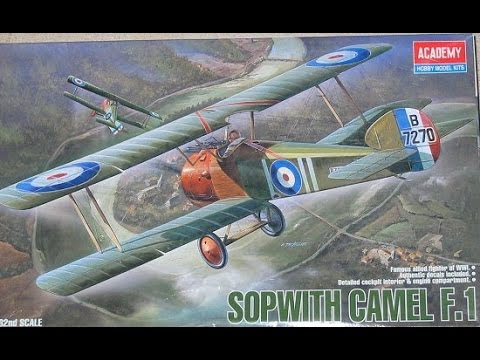 AlexModelling UPDATE on SOPWITH CAMEL F1 1/32 Academy