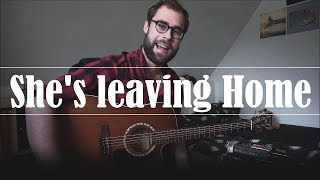 She's leaving Home | The Beatles | Fingerstyle Acoustic Guitar Cover | Severin Gomboc