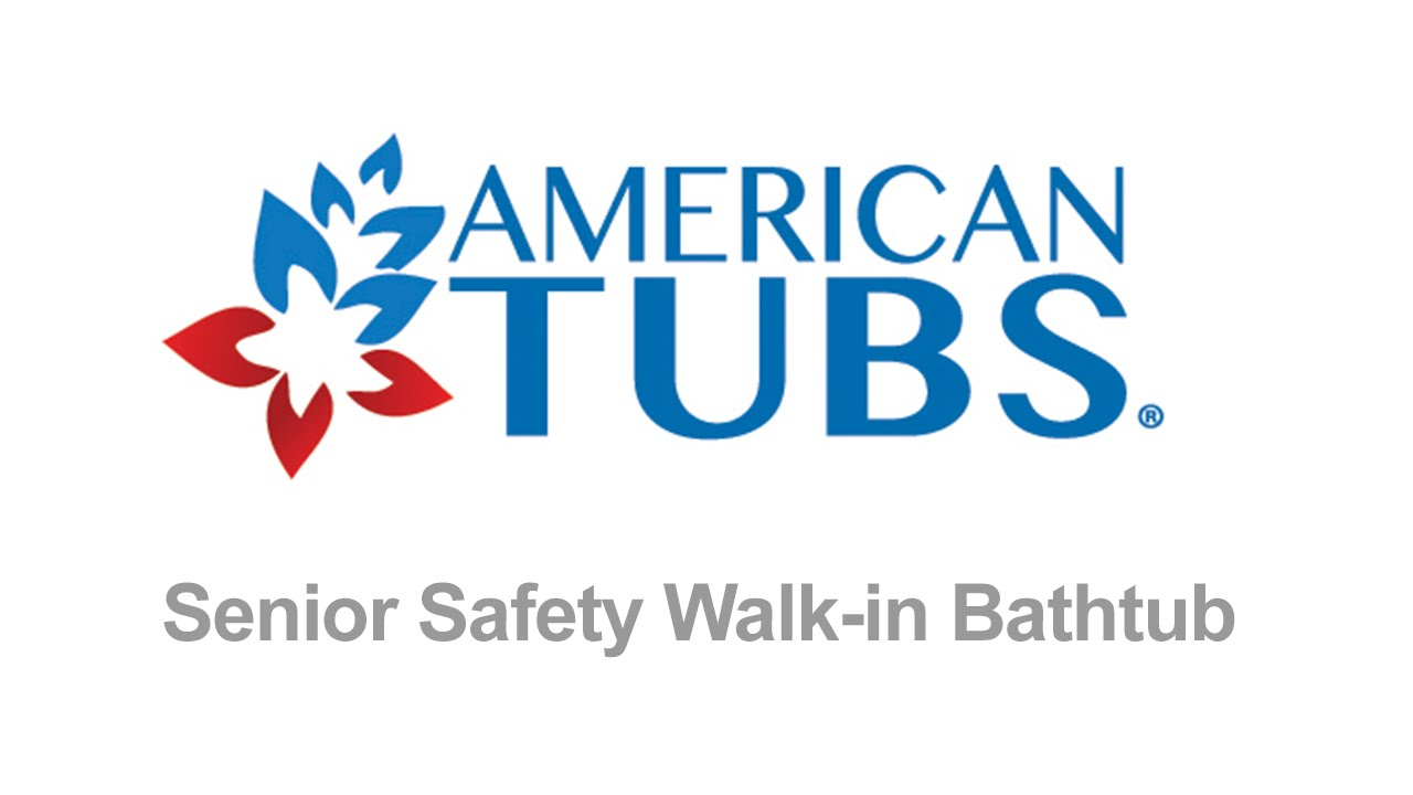 American Tubs Senior Safety Walk-in Bathtub - YouTube