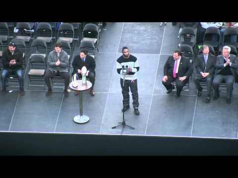 NY Giants Super Bowl XLVI Championship Rally: Justin Tuck's Speech