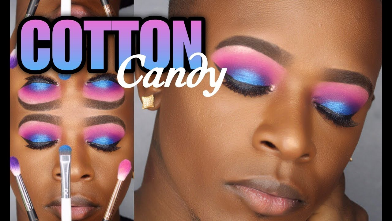 Cotton Candy Eyeshadow Tutorial Morphe35b Beginnerfriendly Youtube