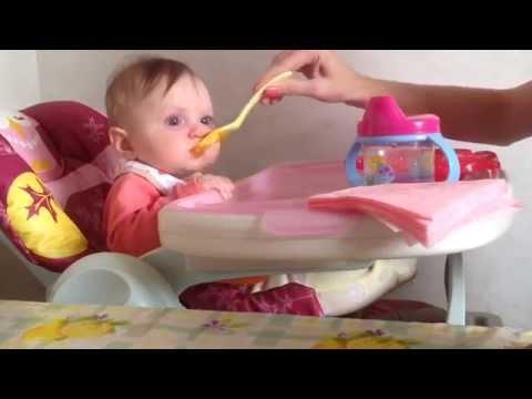 Вкуснейшее блюдо первый прикорм / кормим малыша/ знакомим с новыми продуктами