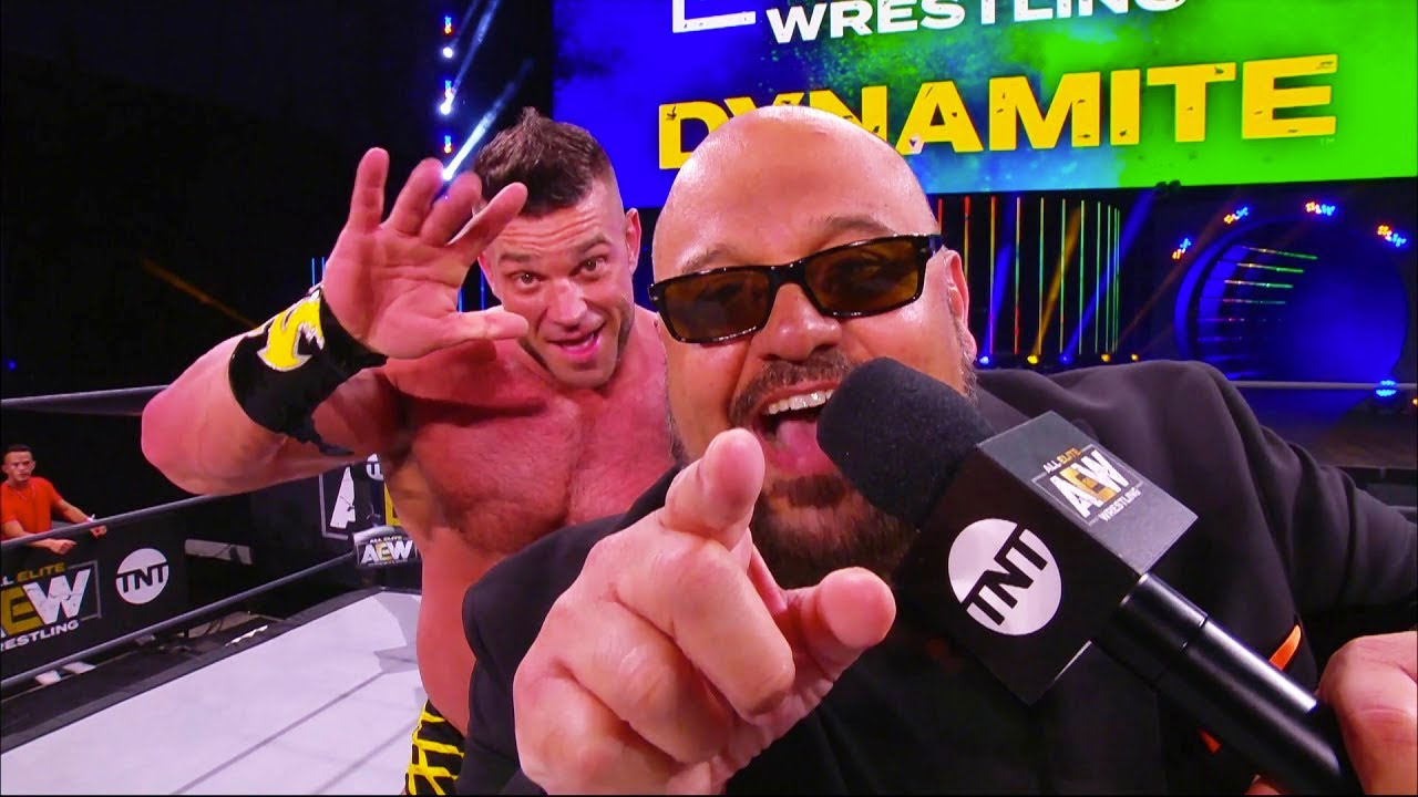 WWE Angry With Taz's AEW Promo