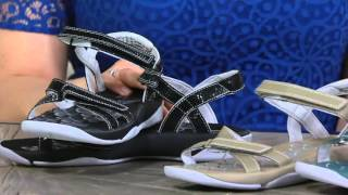 Clarks Adjustable Multi-strap Sport Sandals - Tresca Trace on QVC