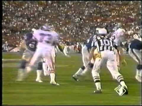 SUPERBOWL XXI : DENVER BRONCOS - NEW YORK GIANTS.