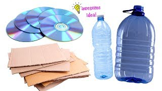 5 AMAZING RECYCLING WAYS TO MAKE WHEN YOU'RE BORED! Best Reuse Idea