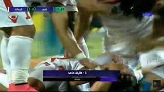ملخص اهداف مباراة الزمالك وانبى وفوز الزمالك على انبى2-1 فى الدورى المصرى