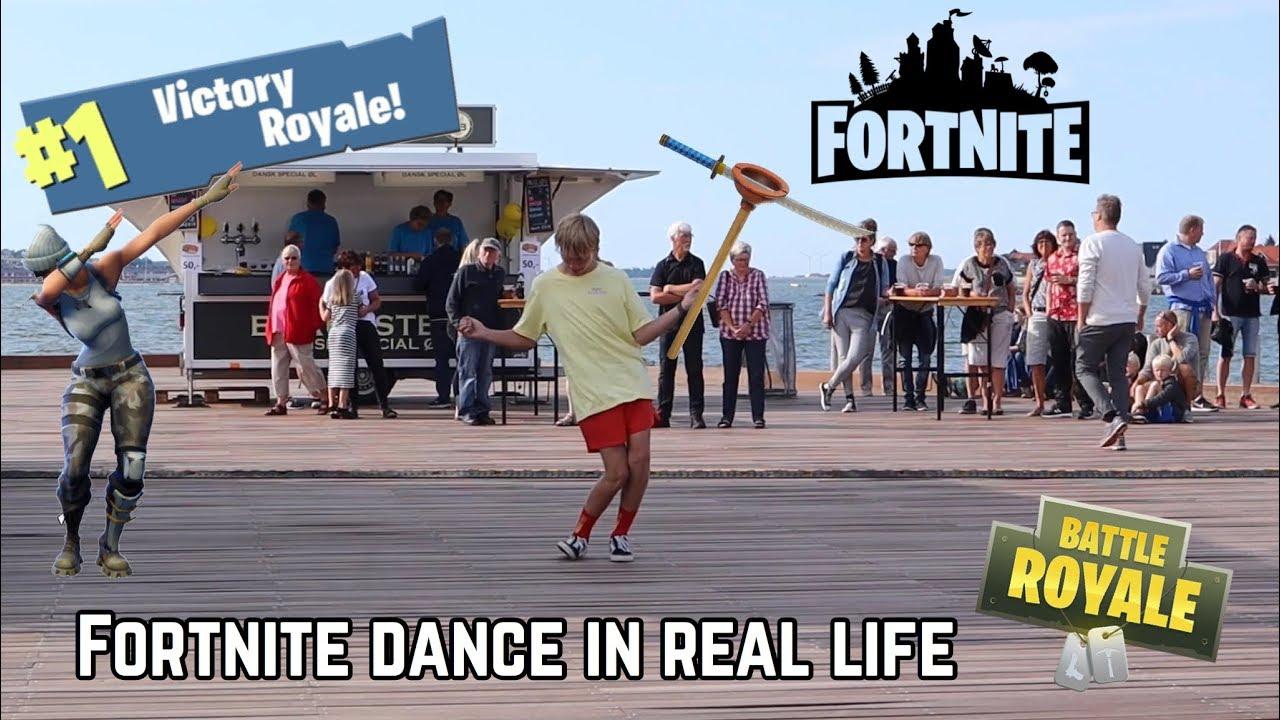 Download Fortnite Dance Challenge In Real Life (VLOG)