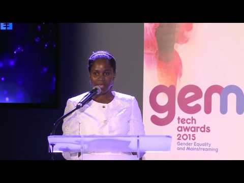GEM-TECH 2015 AWARD:  Ministry of Posts and Telecom. Senegal acceptance speech