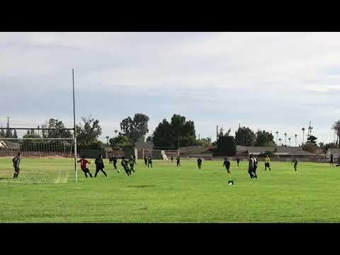 Sam Everakes first goal for Cerro Villa middle school