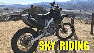 Honda Enduro Sky Riding